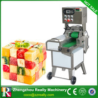 Factory price industrial electric tomato vegetable apple dicer