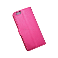 wholesale flip cover pu leather cover double sided case for iphone 5