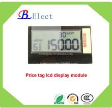 2inch ESL wireless digital supermarket price tag segment lcd display module segment lcd display