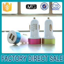 China oem 5v 2.1a car charger,car battery charge two usb