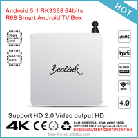Beelink Metal Casing RK3368 Octa Core Cpu Andorid 5.1.1 TV Box