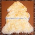 100% de piel de oveja australiana de los animales en forma de alfombras