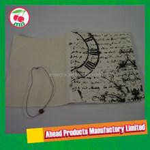 D-ring Canvas Fabric Notebook Organizer