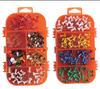 multi-color office stationery push pin&thumb tack set
