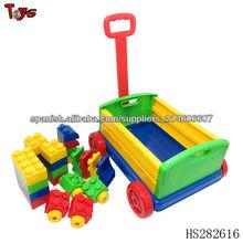 manfacturer para el tamaño grande de la carretilla del coche iluminar con juguetes de ladrillo