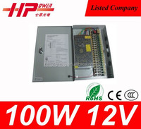 Guangzhou manufacturer Voltage Constant Current High Voltage Power Supply 100w 8.5 amperes 12v power supply price