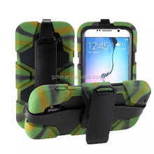Shockproof and waterproof case cover for Samsung Galaxy S6 with belt clip
