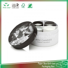 customized design recyclable paper round gift package