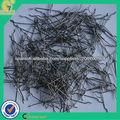 hormigón armado enganchado extremos de las fibras de acero estirado en frío