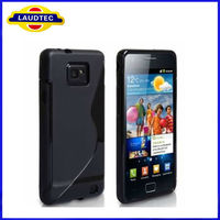 High Quality Soft TPU Gel S line Case for Samsung Galaxy S2 i9100