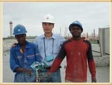 Travail provideconstruction projet de coopération cellulaire léger béton : construction