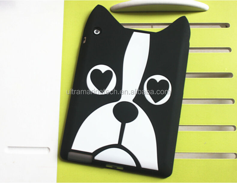 marc jobs case for ipad,for ipad silicon case,for ipad animals case