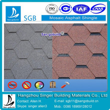 Low price roof using Mosaic shingle tile