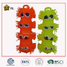 LED Flashing four eyes puffer caterpillar