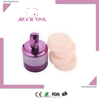 New Foundation Vibrator Cosmetic Face Powder Puff Set includes Puffs