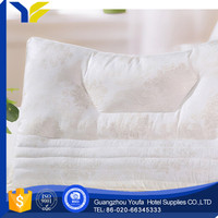 hotel Guangzhou concave stock flocked outdoor quilt and pillow cushion
