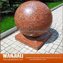 Natural G652 Polished /Honed Maple Red Granite Tile/Slab/Ball