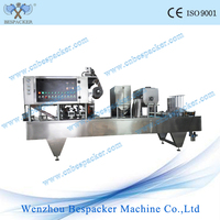 New hot sale automatic coffee capsule filling and sealing machine for K cup, nespresso, lavazza