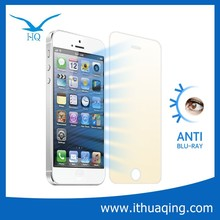 excellent quality anti-ray tempered glass screen guard for iphone 5