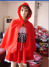 Walson Sexy Red Riding Hood Costume Women's Uniform Outfit Cosplay HALLOWEEN Party