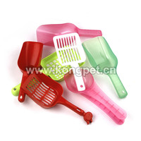 Pet cleaning product/ sand plastic scoop for cat litter LH015
