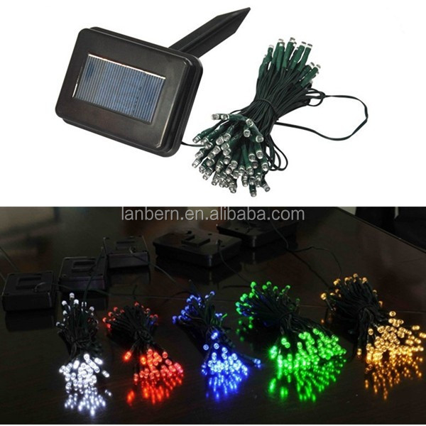 Single String Christmas Lights : Christmas Tree Decoration 2016 Rgb Or Single Color Ip44 Waterproof String 12m 100leds Small ...