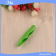 Hot Sale Cheap Travel Hotel Disposable Foldable Green Toothbrush