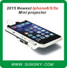 SMPI6 newest iphone 6 / 5 / 5s mini led projector