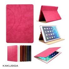 Kaku professional ultra-slim flip leather for sublimation ipad air case