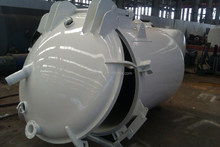 4,000L vacuum tank for transporting sludge or waste water