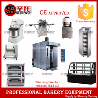 Shentop industrial bread baking oven 32 trays professional bakery rotary diesel oven convection oven