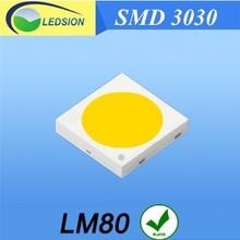 Lighting led 1W 3030 3.0-3.4V 350mA 110-120LM LED chip Led brite