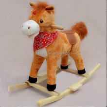 Rocking horse baby horse rock toy with music toy