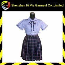 hot selling custom models of school uniforms
