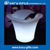 KTV ice bucket Ice bucket with beautiful lights Illumited plastic ice bucket