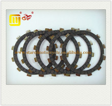 motorcycle clutch disc kit AX100 rubber fiber friction material clutch plate for Suzuki