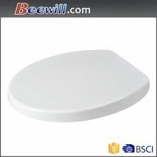 White color toilet seats for sale with slow close toilet seat cover