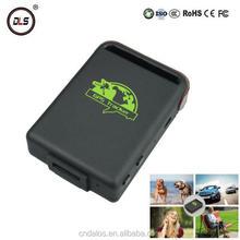 GPS/GSM/GPRS mini gps tracker online software kid and dog gps tracker tk102