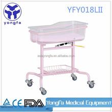 YFY018L(II) Hospital baby cribs with wheels