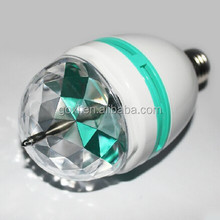 2015 Christmas Rotating Magic bulb / led magic ball E27 /B22 led bulb