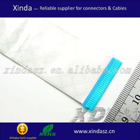 OEM ffc 40 pin 1mm 0.5mmpitch 100 mm length flat ffc cable 9 pin flat cable manufacturer