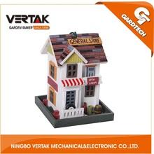Professional garden supplier wooden bird nest , wooden bird house , wooden decorated bird house