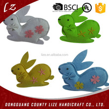 2015 hot sales new product home crafts holiday christmas decorations handmade hanging rabbit