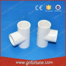 wholesale plastic pvc fitting for pipe/ equal tee