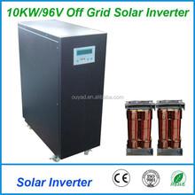 10KW96V off grid solar inverter , pure sine wave solar inverter 96V ,10KW solar inverter