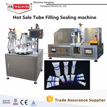 Hengxing Machinery Ultrasonic Plastic Tube Filling Sealing Machine With Coding and Cutting Function