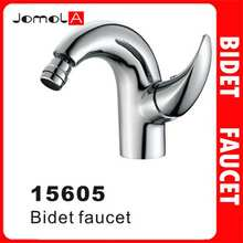 Single handle single hole Chrome plating Bidet faucet