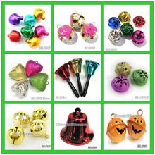 In stock cheaper hand metal christmas jingle brass bell