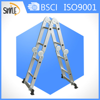 ladder aluminium hook ladder