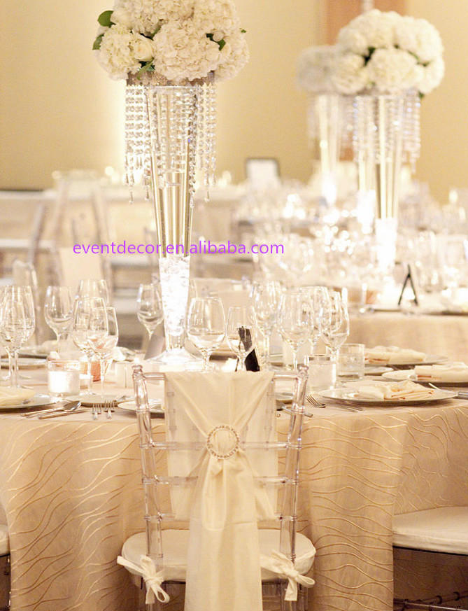 Tall Wedding Vases Clear Transparent Vase For Wedding